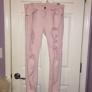 VIP Baby Pink Skinny Jeans. Size 11/12